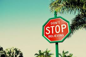 dont stop believing